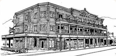 Rendering of Kaslo Hotel
