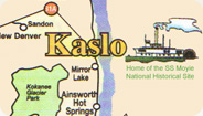 Map of Kaslo